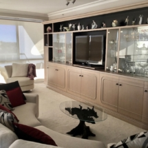 SQ - Bespoke Entertainment and Display Cabinet
